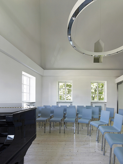 Chamber music hall in the Kuhhirtentum, © Christian Richters