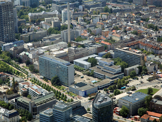 This is where Frankfurt's future KulturCampus is going to be, © Stadtplanungsamt Stadt Frankfurt am Main