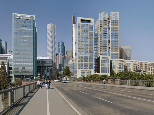 Rendering of the Panorama high-rise, © Deutsche Immobilien Chancen (DIC)